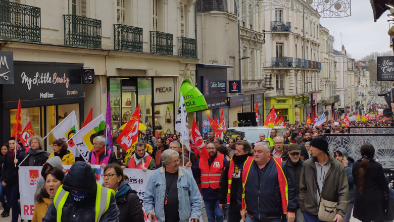 Manifestation Rue de la Roë