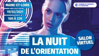 La CCI de Maine-et-Loire organise la Nuit de l'orientation le 19 février