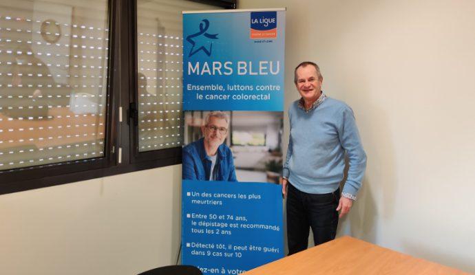 Mars bleu : la Ligue contre le cancer de Maine-et-Loire se mobilise pour lutter contre le cancer colorectal