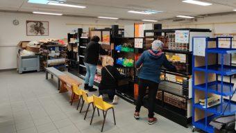 Les Restos du cœur disposent désormais de locaux flambants neufs dans le centre-ville
