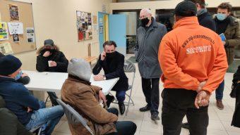 La ville ouvre un gymnase pour accueillir des sans-abris