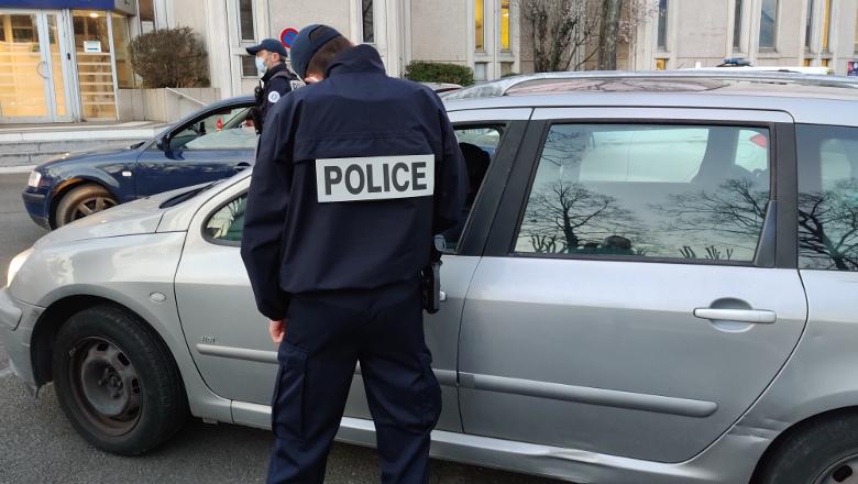 Contrôles couvre-feu Angers