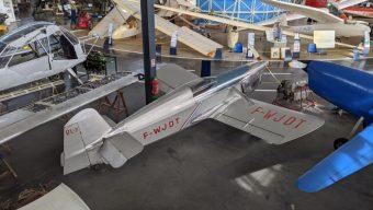 L'espace Air Passion à Marcé accueille un avion classé monument historique