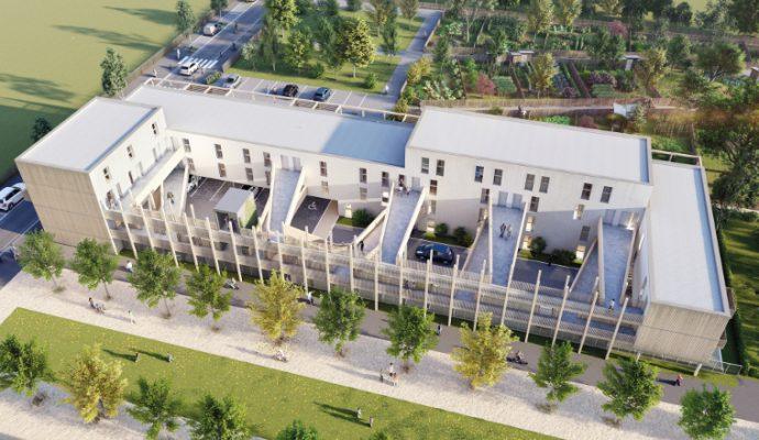 Imagine Angers : un immeuble biosourcé verra le jour dans les Hauts-de-Saint-Aubin