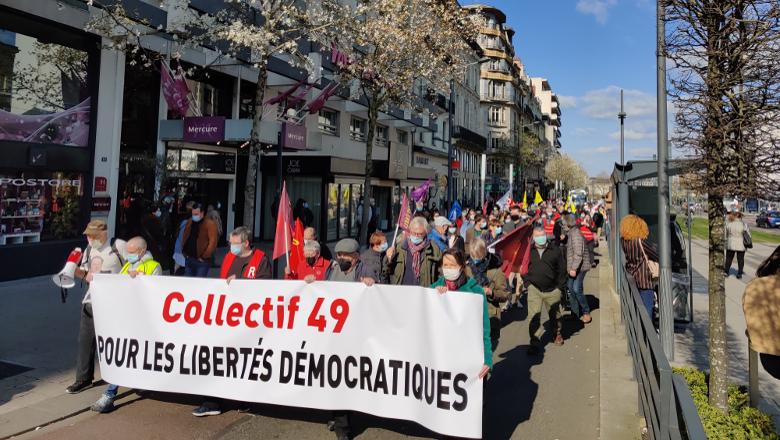 """Manifestation """"Sécurité globale"""""""