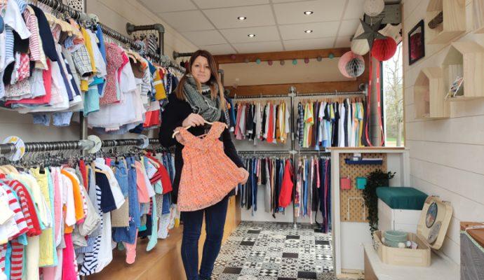 Kidiz Truck : des vêtements de seconde main dans une boutique itinérante