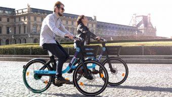 La startup angevine Pony déploie 500 vélos électriques partagés dans les rues de la capitale
