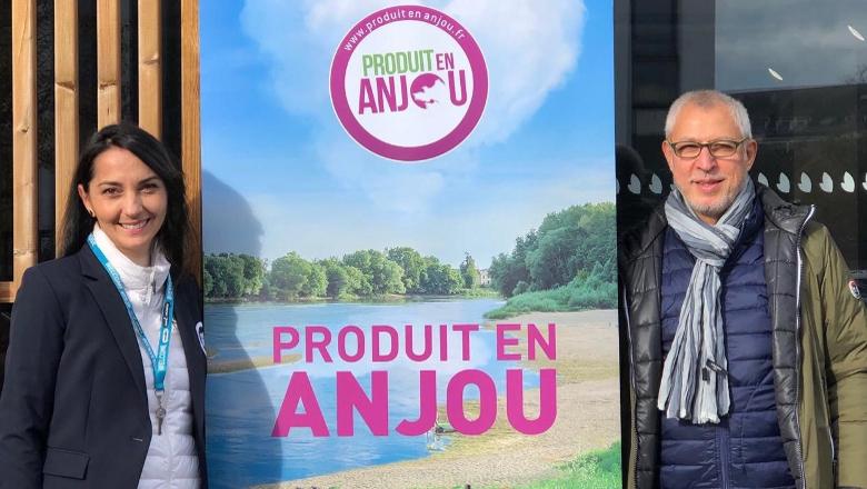 ascale Mitonneau, directrice de Produit en Anjou et Henri Mercier, président de la marque.
