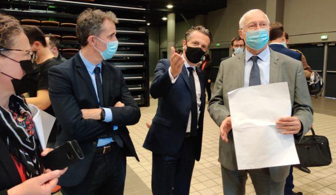 Le vaccinodrome d'Angers ouvrira le 12 avril au Parc des Expositions