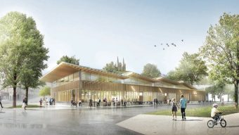Les halles alimentaires devraient ouvrir fin 2022 place de la Poissonnerie
