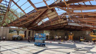 L'ancienne patinoire du Haras se transforme en salle de sport