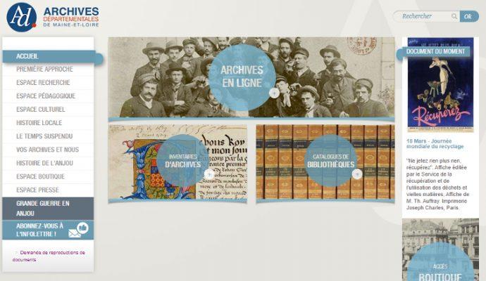 756 registres numérisés et 150 000 images mises en ligne par les Archives départementales