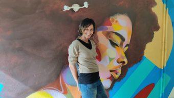 A Trélazé, la résidence d'artistes de Doris Koffi a ouvert ses portes au public