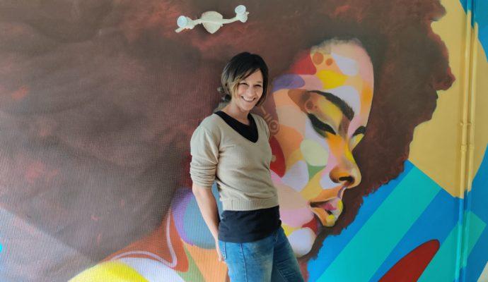 Doris Koffi crée une résidence d'artistes éphémère