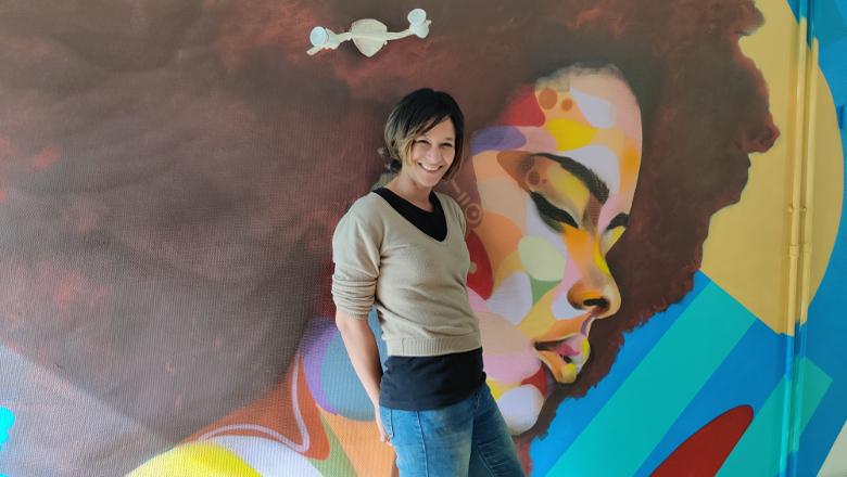Doris Koffi à la Rézidence