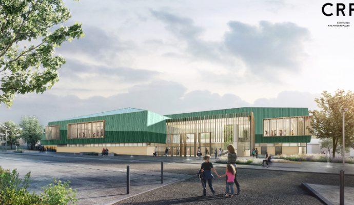 Le nouveau gymnase de Monplaisir sera livré l'année prochaine