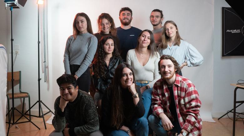 Les étudiants de la société de production 4Tiers