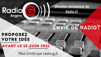 Radio G ! lance son appel à nouveaux projets d'émissions pour la saison prochaine