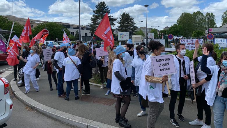 Grève réanimation CHU d'Angers