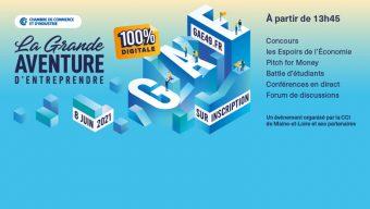 La Grande Aventure d'Entreprendre aura lieu en ligne le 8 juin