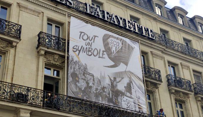 Angers SCO présente son nouveau logo en forme de diamant