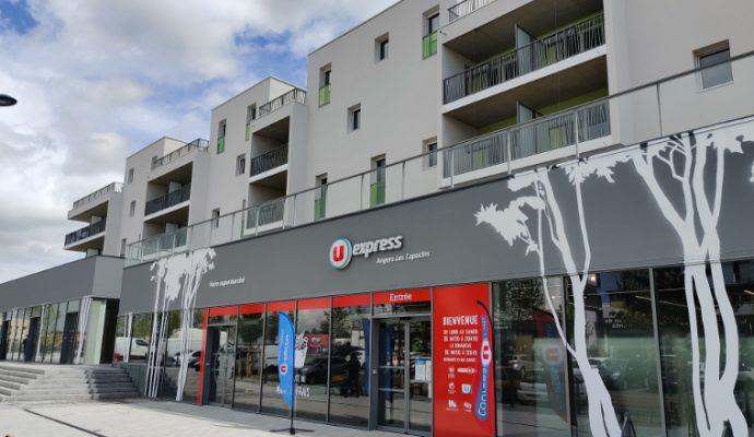 Un supermarché U Express a ouvert ce mardi 11 mai place de la Fraternité dans les Hauts-de-Saint-Aubin