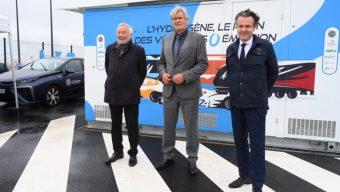 Angers Loire Métropole s'associe au Mans et à Dijon pour s'équiper de bennes à hydrogène
