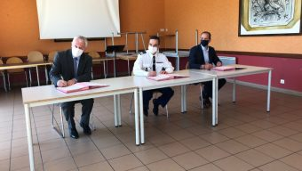 Irigo et les équipes de la gendarmerie nationale signent une convention pour renforcer la sécurité dans les transports en commun