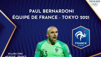Jeux olympiques : le gardien d'Angers SCO, Paul Bernardoni, sélectionné