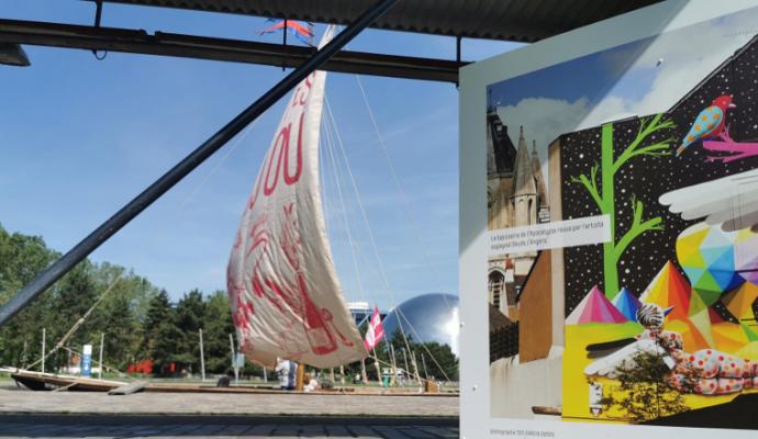 L'Anjou fait sa promotion au parc de La Villette de Paris