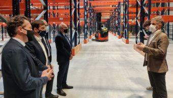 Aux portes d'Angers, le groupe InVivo Retail inaugure sa plateforme logistique avec 70 emplois à la clé