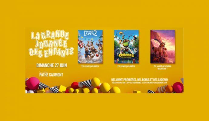 Une journée dédiée aux enfants ce dimanche 27 juin au cinéma Pathé d'Angers