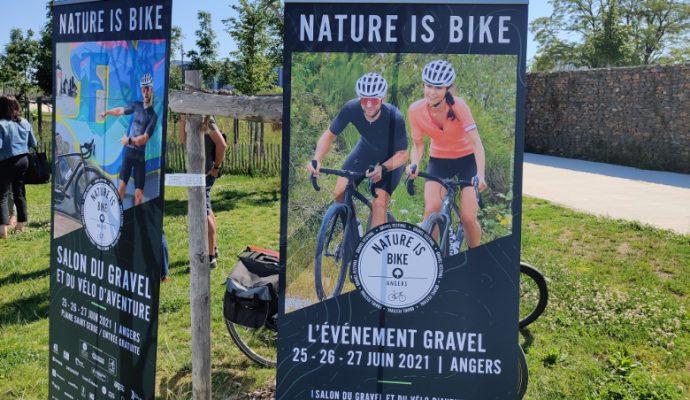 Nature is bike : le gravel à l'honneur à Angers du 25 au 27 juin
