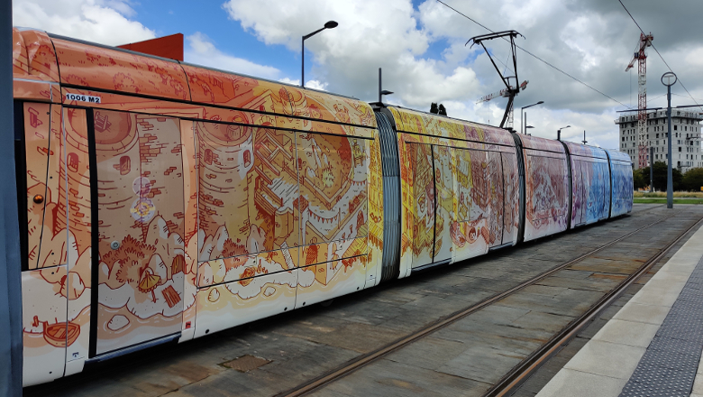 Tramway Echapées d'art