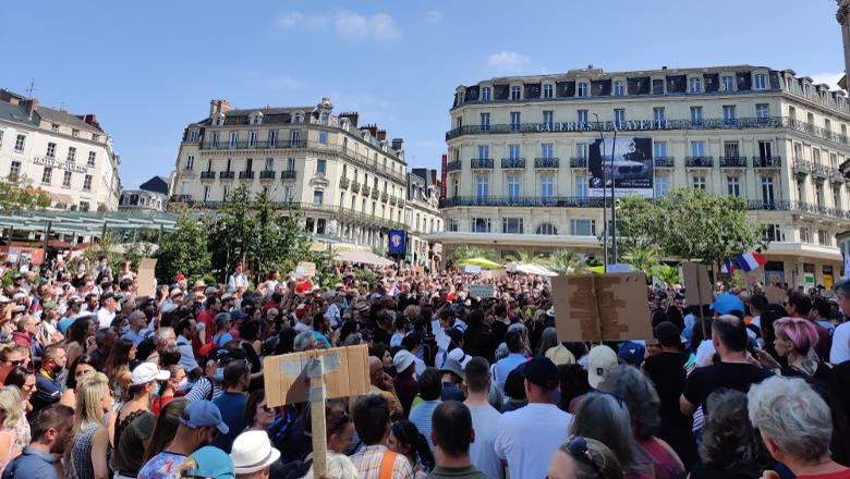 Manifestation pass sanitaire Ralliement
