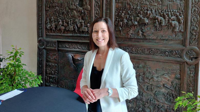 Florence Dabin, présidente Maine-et-Loire