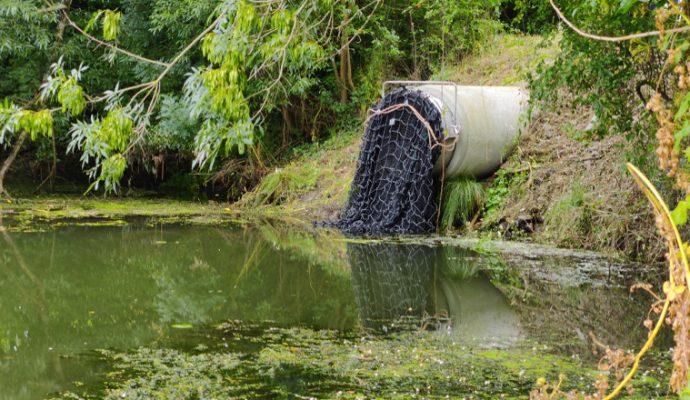 La ville d'Angers expérimente les filets anti-déchets pour limiter la pollution de l'océan