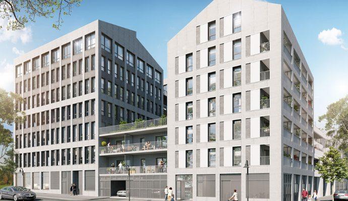 « Les Ateliers », programme immobilier mêlant logements, bureaux et ateliers d'artistes sort de terre près de la gare