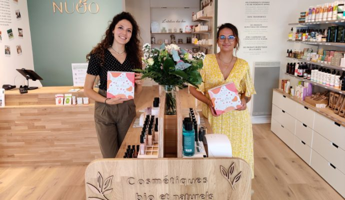 Les cosmétiques bio et naturels Nuoo débarquent à Angers