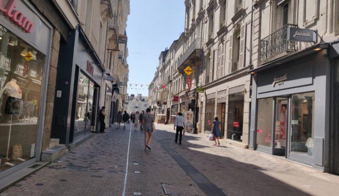A Angers, le commerce de centre-ville se porte bien