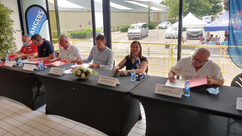 Signature convention natation