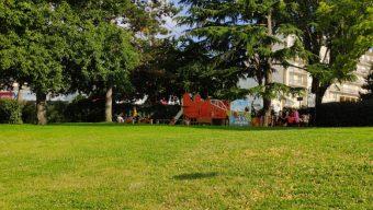 Une nouvelle aire de jeux pour les enfants du quartier Grand-Pigeon