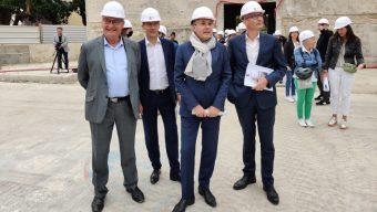 Les élus font un tour d'horizon des chantiers de la ville