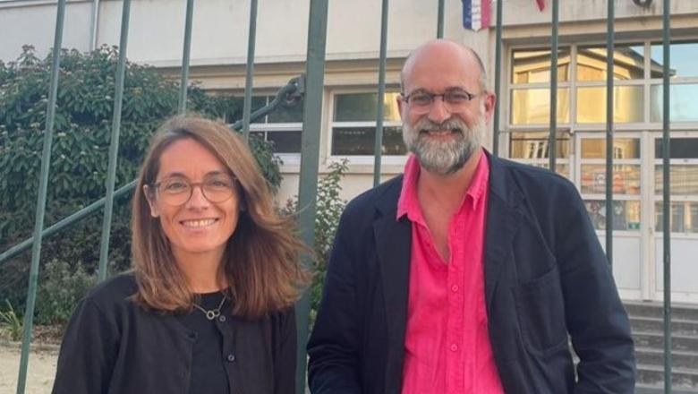 Florence Prudhomme et Jean-Baptiste Lalanne - FCPE 49