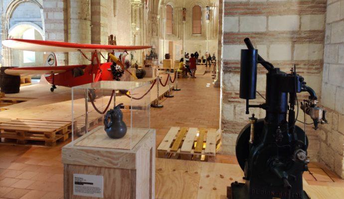 A la collégiale Saint-Martin, une exposition réunit les musées de l'Anjou