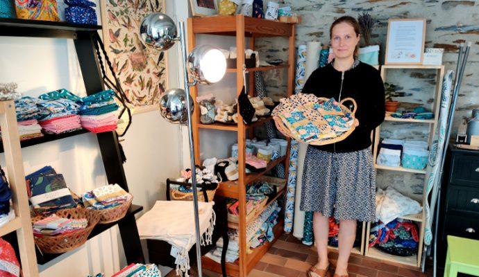 Des créations artisanales zéro déchet chez Vadelma