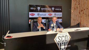 Avec Xavier Thuilot, nouveau directeur général délégué d'Angers SCO, Saïd Chabane fait le point