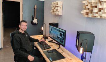A Angers, un studio d'enregistrement ouvre ses portes