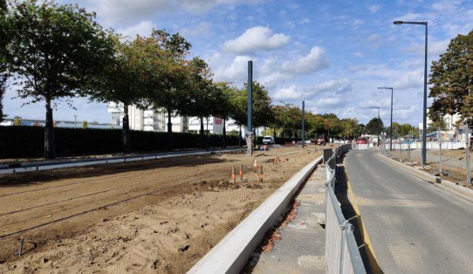 Tramway : de Belle-Beille à Monplaisir, les travaux des lignes B et C se poursuivent